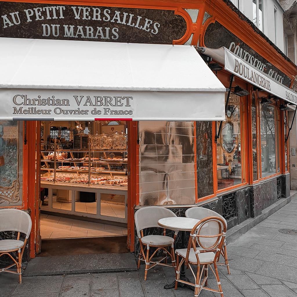 סוף שבוע בפריז רובע לה מארה