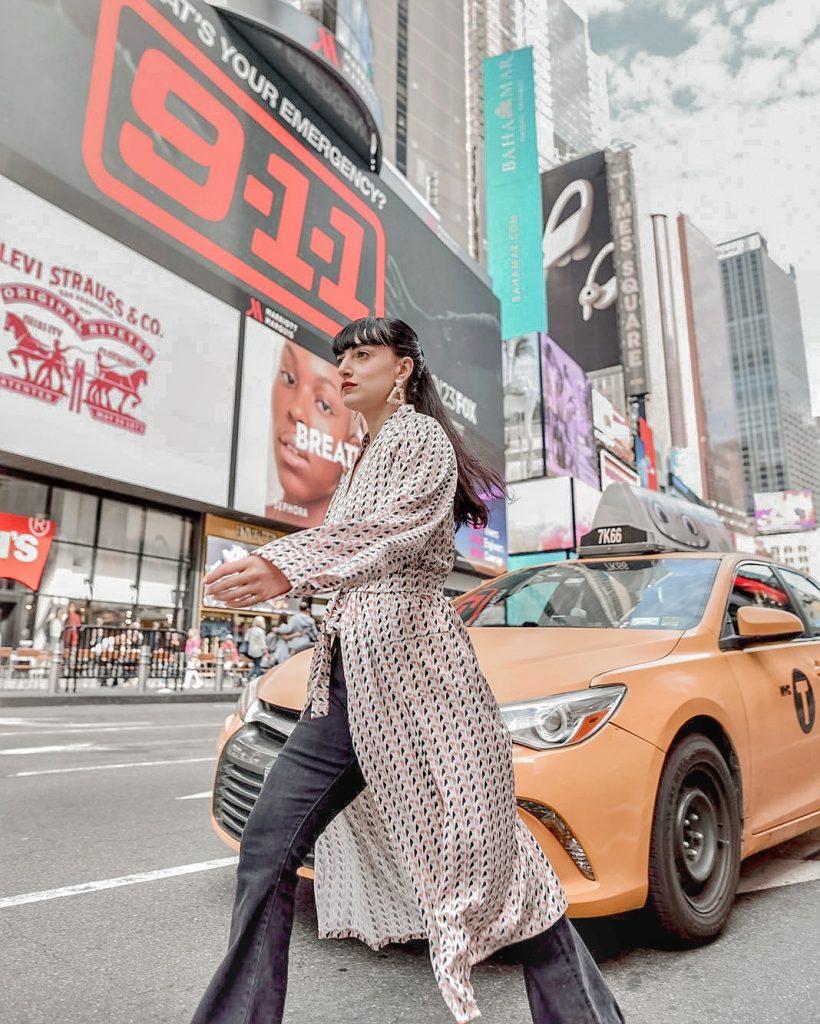 שנטי גדרון שבוע האופנה ניו יורק