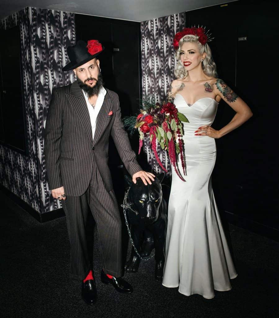 דפנה ואיילונזו חתונה - צילום נטלי