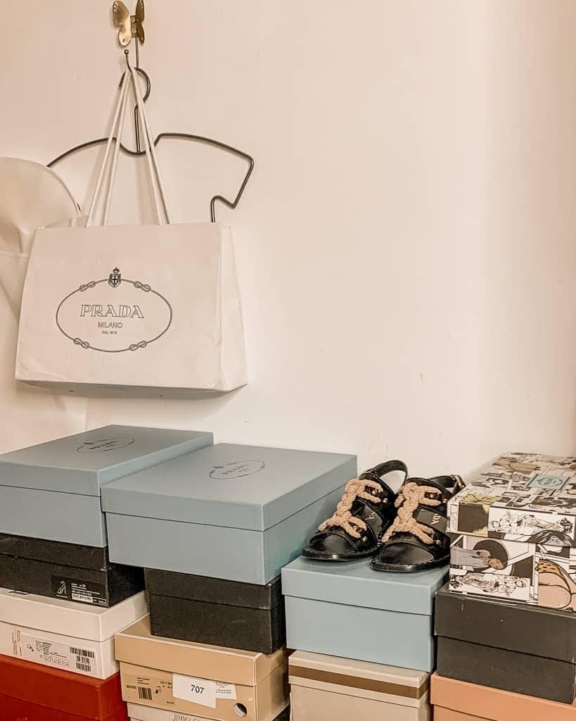 אוסף הנעליים של טל