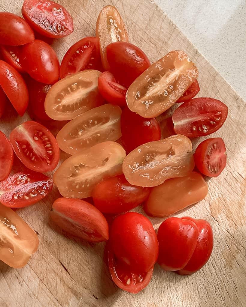 עגבניות שרי צבעוניות