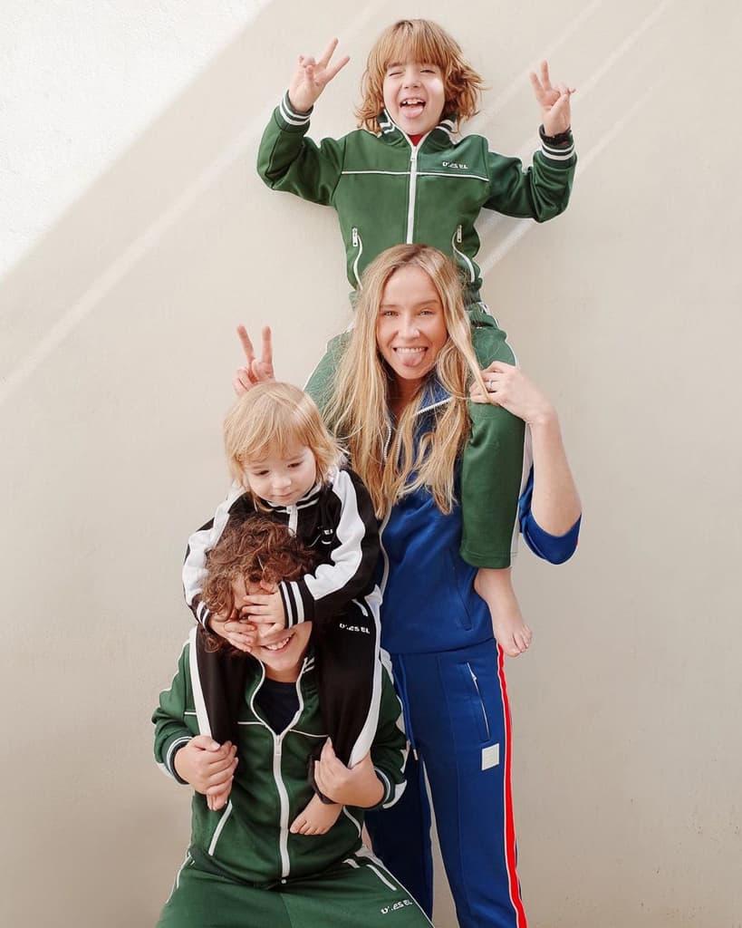 נסטיה ליסנסקי והילדים