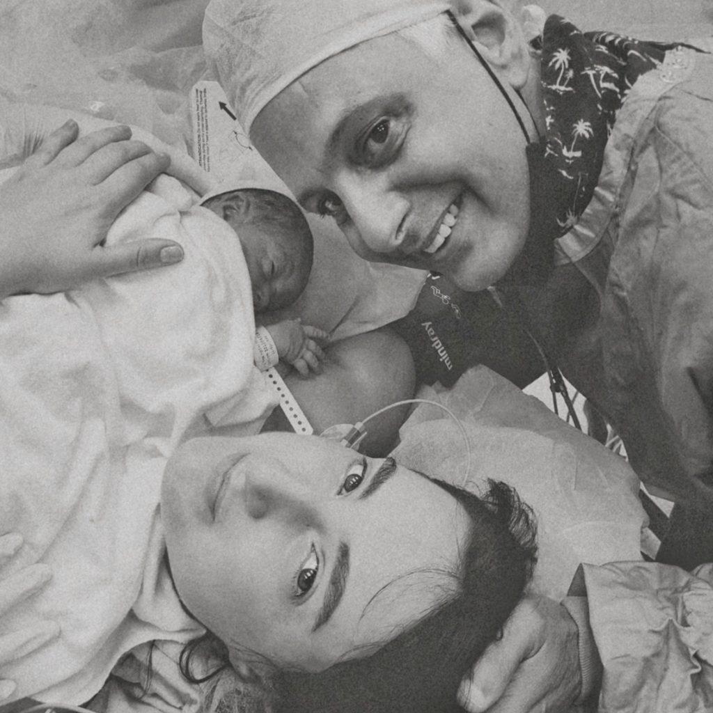 ניתוח קיסרי צרפתי - סיפור הלידה שלי